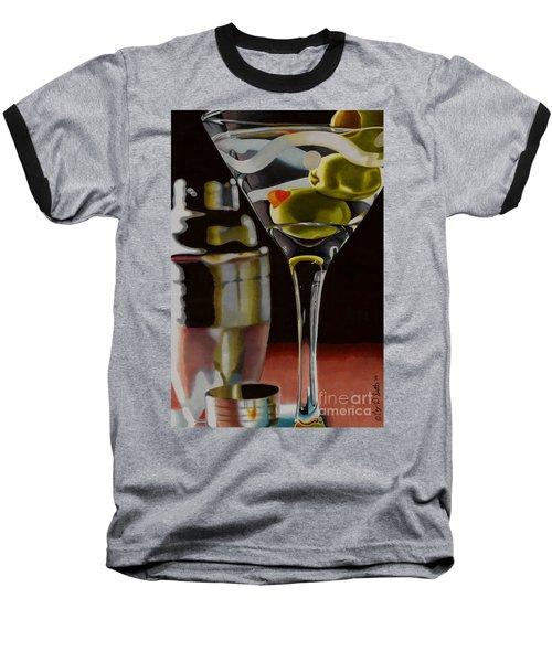 Shaken Not Stirred Baseball T-Shirt