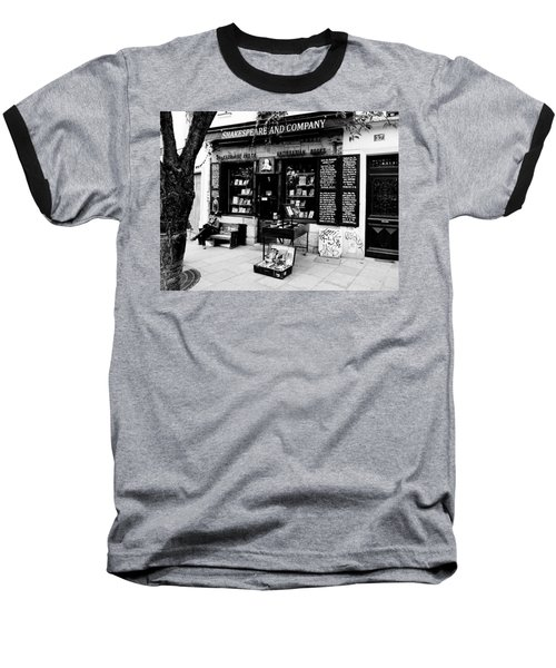 Shakespeare And Company Boookstore In Paris France Baseball T-Shirt
