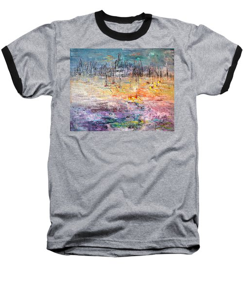 Shallow Water - Sold Baseball T-Shirt by George Riney