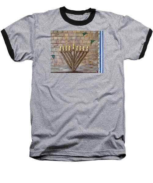 Chanukah Of Peace Baseball T-Shirt