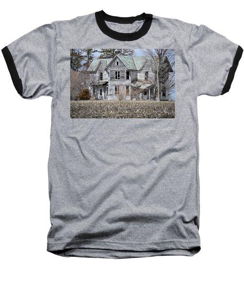 Shame Baseball T-Shirt by Bonfire Photography