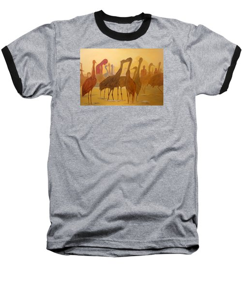 Shapes Just Shapes Formas Nada Mas Baseball T-Shirt by Lazaro Hurtado