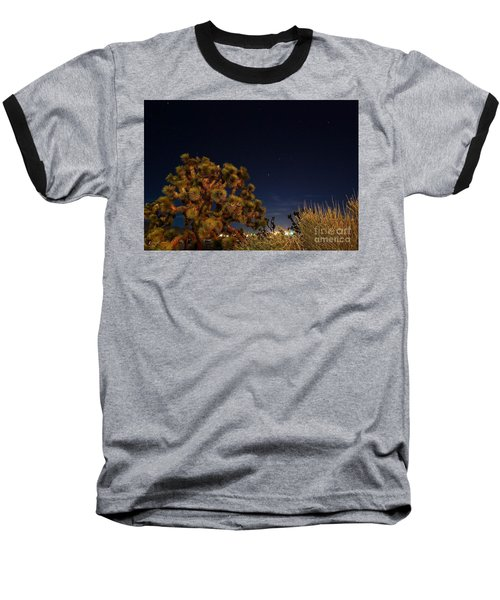 Baseball T-Shirt featuring the photograph Sharing The Land by Angela J Wright