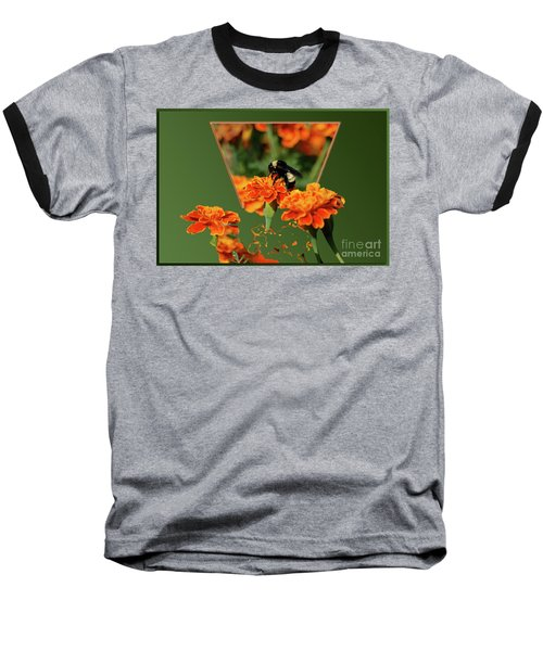 Baseball T-Shirt featuring the photograph Sharing The Nectar Of Life by Thomas Woolworth