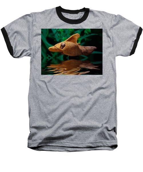 Baseball T-Shirt featuring the photograph Sharkwood by WB Johnston