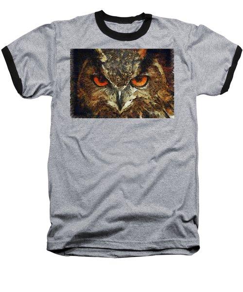 Sharpie Owl Baseball T-Shirt