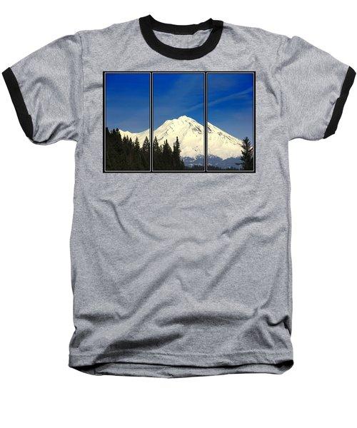 Shasta Baseball T-Shirt by Athala Carole Bruckner