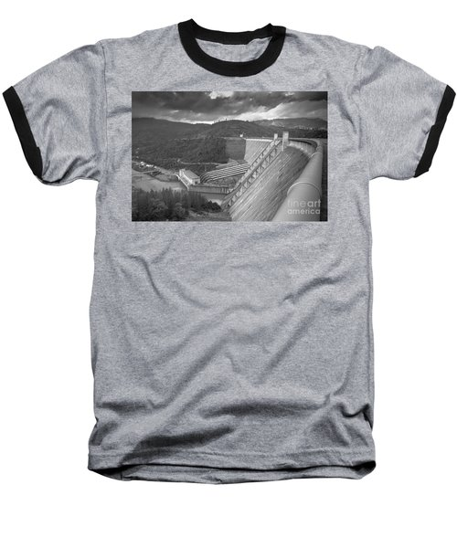 Shasta Lake Dam Baseball T-Shirt