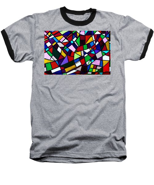 Shattered Baseball T-Shirt