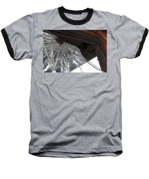Baseball T-Shirt featuring the photograph Shattered by Lynn Sprowl