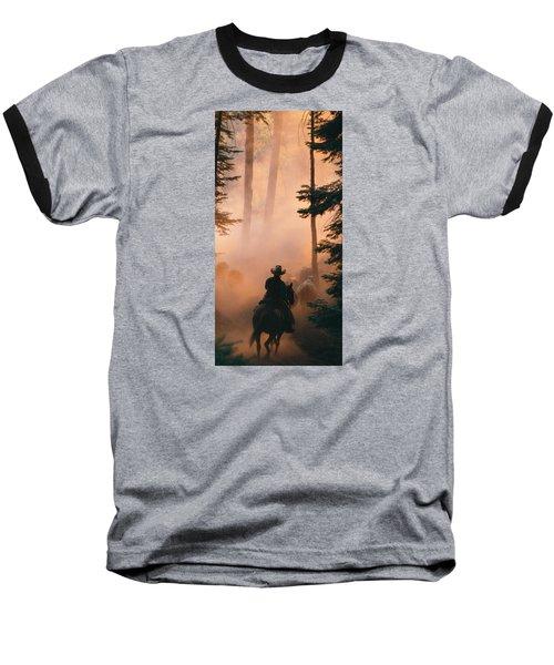 Shayna Baseball T-Shirt by Diane Bohna