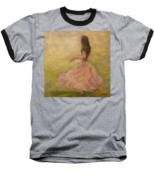 She Dances With The Rain Baseball T-Shirt