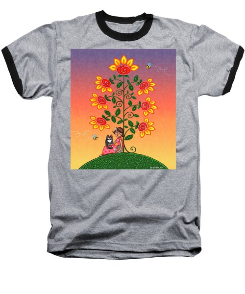 She Is Life Barnes And Noble Baseball T-Shirt