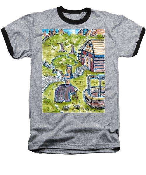 She Made Away Baseball T-Shirt