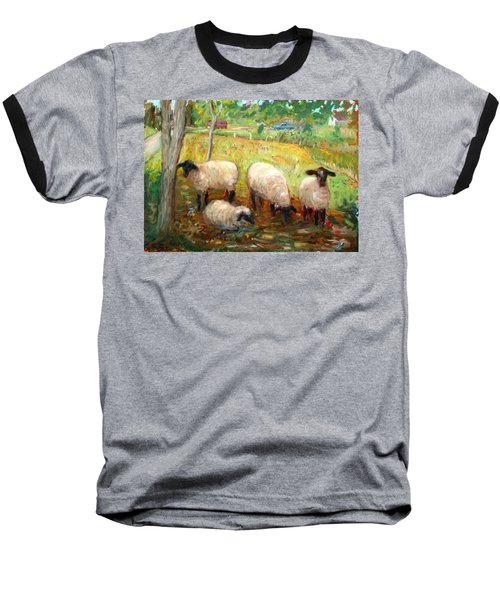 Sheep Baseball T-Shirt