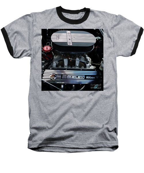 Baseball T-Shirt featuring the photograph Shelby By Roush by Chris Thomas