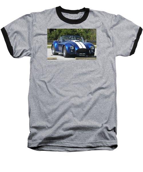 Shelby Cobra Baseball T-Shirt by Christiane Schulze Art And Photography
