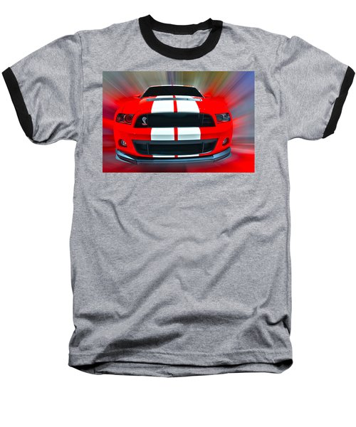 Shelby Gt 500  2013 Baseball T-Shirt