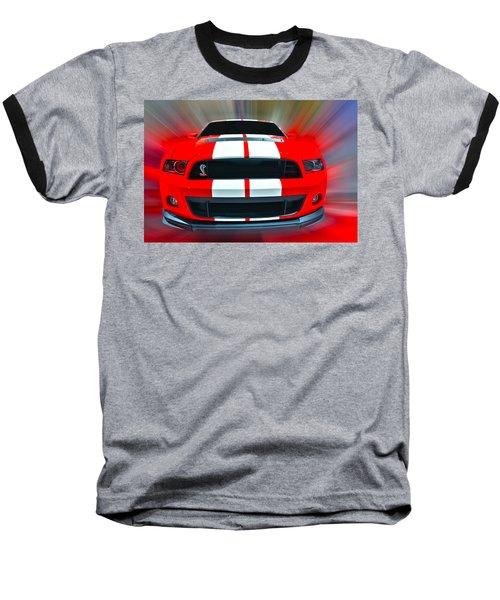 Shelby Gt 500  2013 Baseball T-Shirt