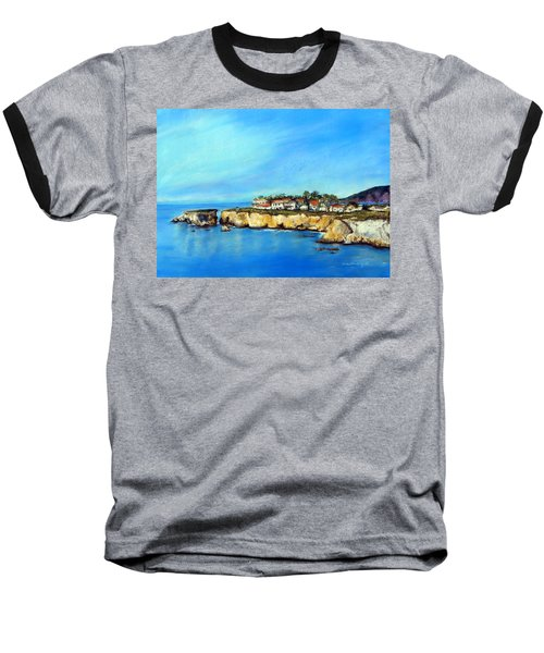 Shell Beach California Baseball T-Shirt
