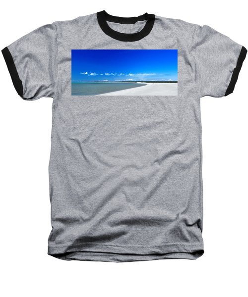 Baseball T-Shirt featuring the photograph Shell Beach by Yew Kwang