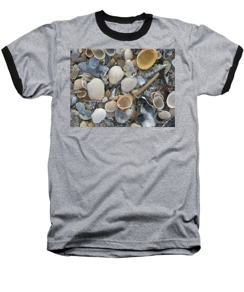Shell Mosaic Baseball T-Shirt