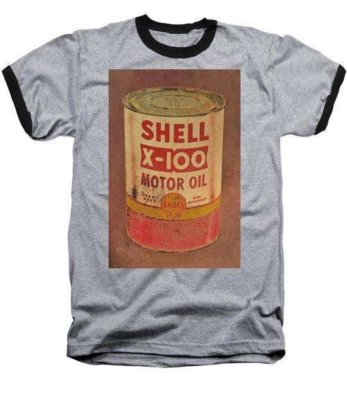 Shell Motor Oil Baseball T-Shirt