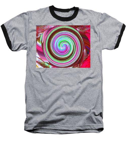 Baseball T-Shirt featuring the digital art Shell Shocked by Catherine Lott