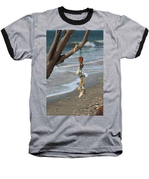 Shells On A String Baseball T-Shirt