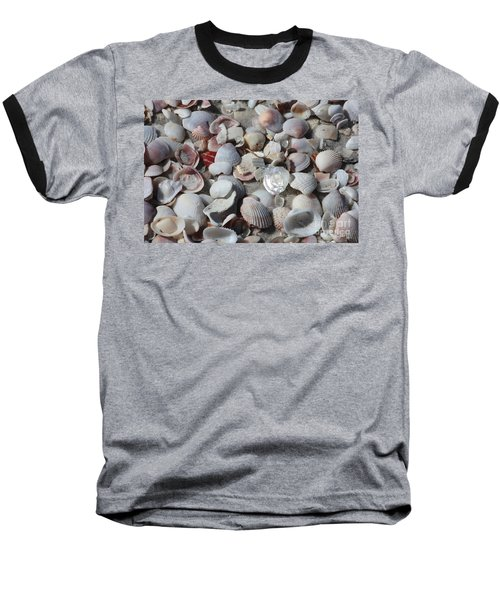 Shells On Treasure Island Baseball T-Shirt