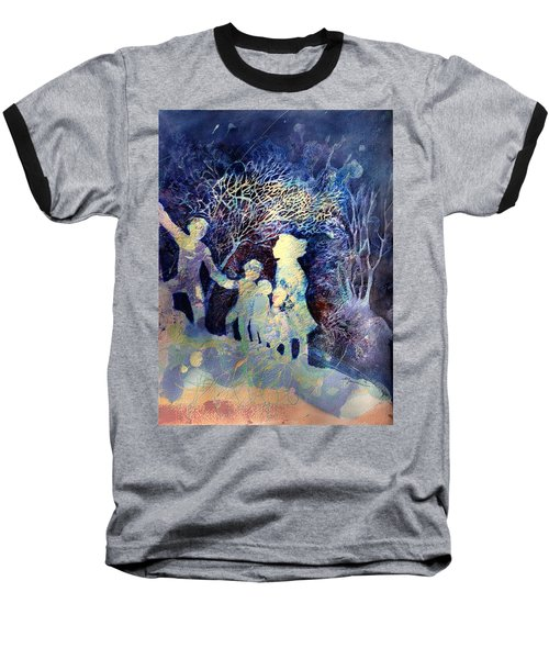 Shelter From The Storm Baseball T-Shirt
