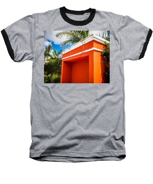 Shelter Orange Baseball T-Shirt