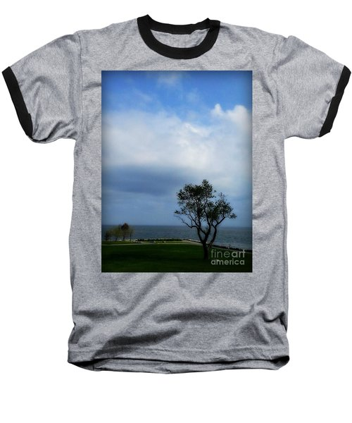 Sherwood Island Baseball T-Shirt by Kristine Nora