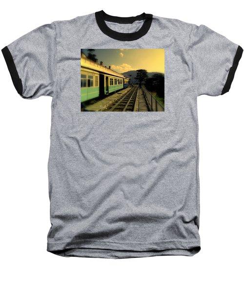 Shimla Railway Station Baseball T-Shirt by Salman Ravish