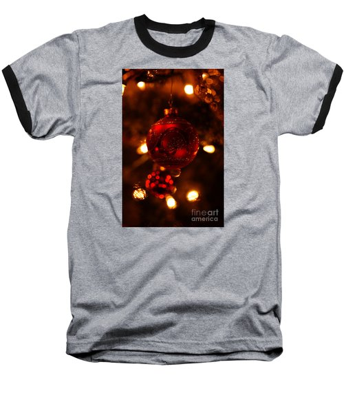 Baseball T-Shirt featuring the photograph Shimmering Reflection by Linda Shafer