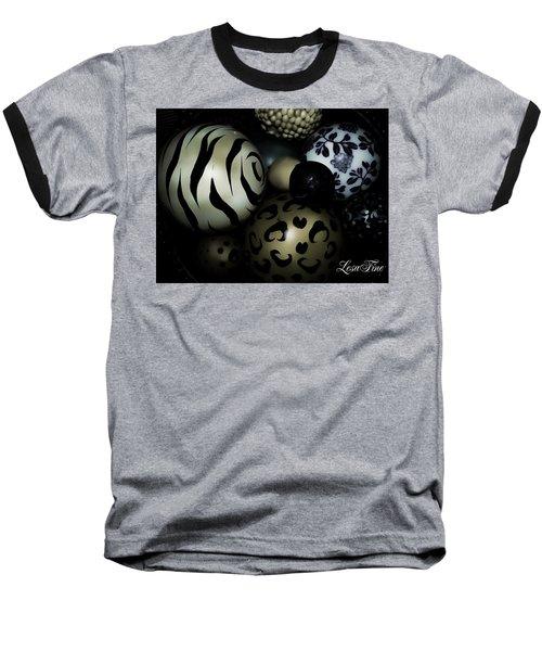 Shimmery Spheres Baseball T-Shirt