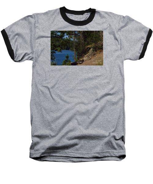 Shine On Baseball T-Shirt by Greg Patzer