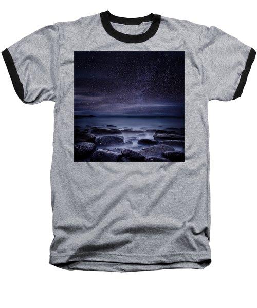 Shining In Darkness Baseball T-Shirt by Jorge Maia