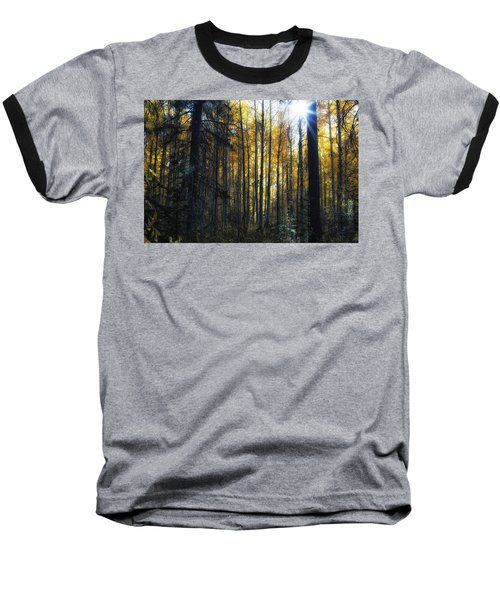 Baseball T-Shirt featuring the photograph Shining Through by Belinda Greb