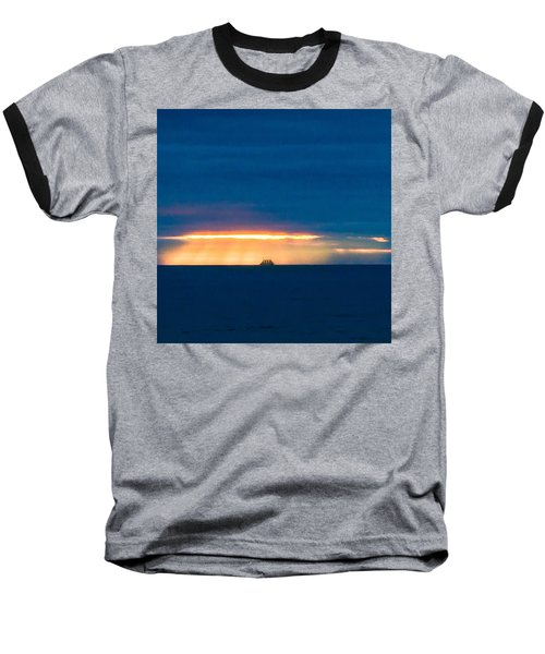 Ship On The Horizon Baseball T-Shirt
