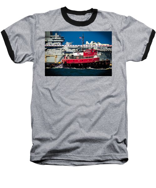 Shipping Lane Hero Baseball T-Shirt