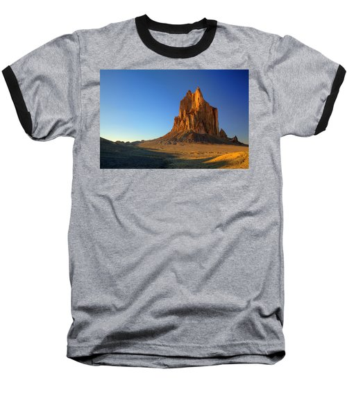 Shiprock Sunset Baseball T-Shirt