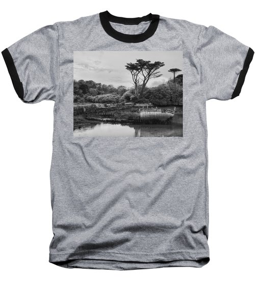 Shipwreck Baseball T-Shirt by Hugh Smith