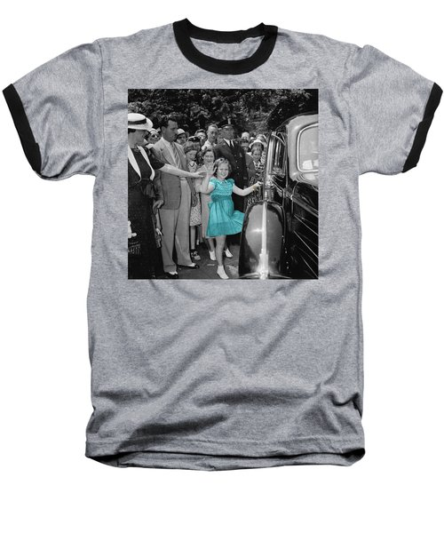 Shirley Temple Baseball T-Shirt