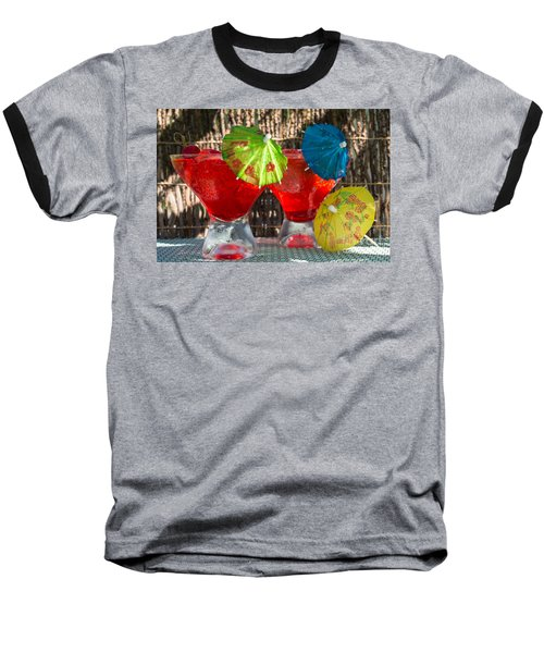 Shirley Temple Cocktail Baseball T-Shirt