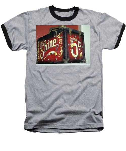 Shoe Shine Kit Baseball T-Shirt by Pamela Walrath