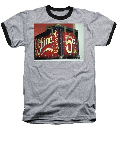Shoe Shine Kit Baseball T-Shirt