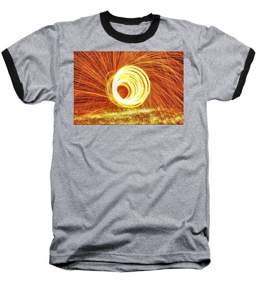 Shooting Sparks Baseball T-Shirt