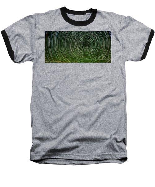 Shooting Star Trails Baseball T-Shirt