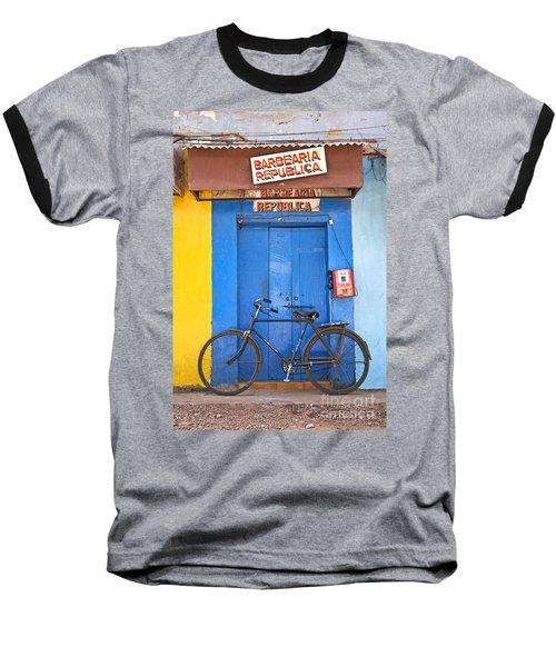 Shop On Street In Goa India Baseball T-Shirt